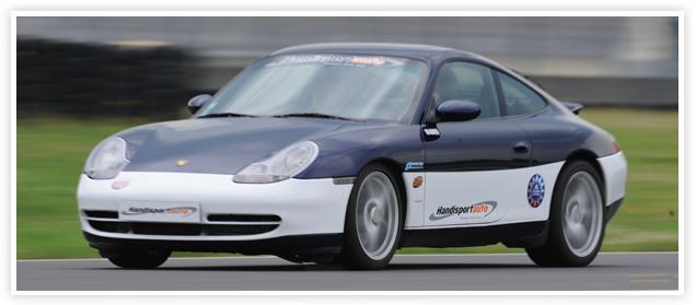 Handisportauto, stage Porsche, Le Mans